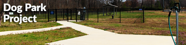 Scottsboro City dog park project.