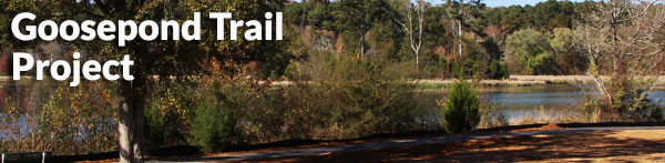 Scottsboro City Goose pond trail extension project.