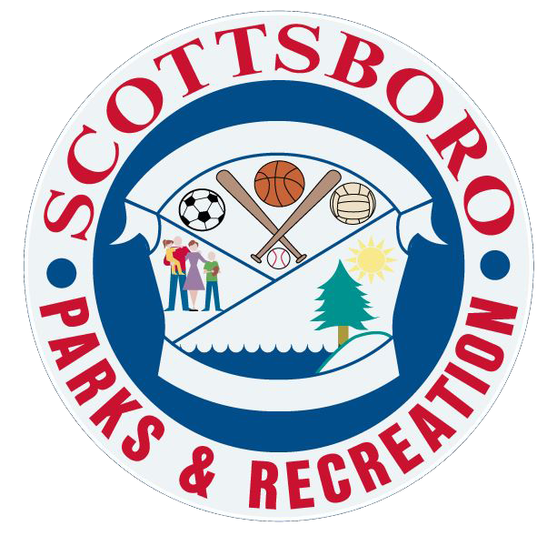 Scottsboro city Parks and Recreation Logo